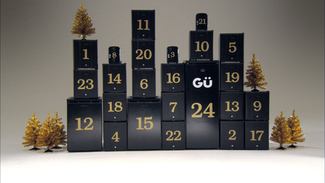 Gü works with Publicis Chemistry to create decidedly different Advent Calendar's for dessert fans | Vibe - bringing life to brands | Scoop.it