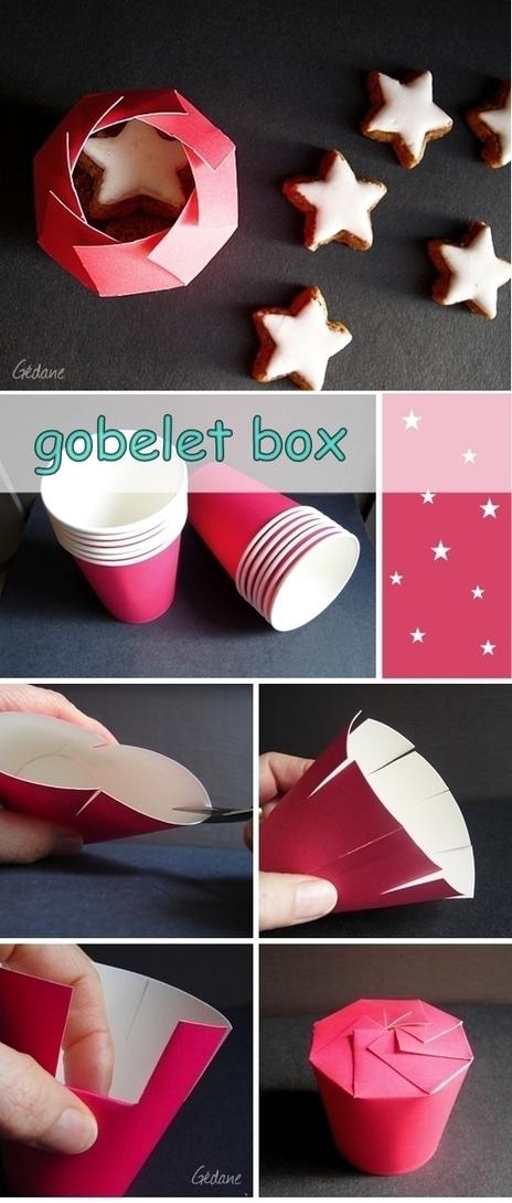 Récup Gobelet - Petites boîtes | ...récup | Scoop.it