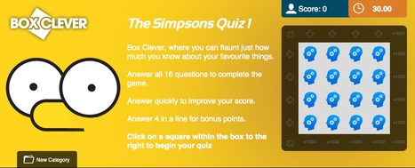 The Simpsons Quiz | Box Clever | QuizFortune | Quiz Related Biz - Social Quizzing and Gaming | Scoop.it