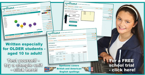Spelling help | Spelling tests | Spelling games | SEN Tech Resources | Scoop.it