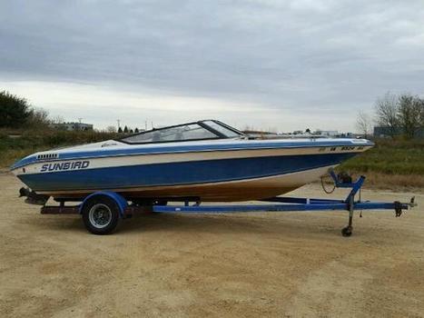 1991 blue Sunb Marine/trl on Sale in Crashedtoys Eldridge, IA | Online Auto Sale | Scoop.it