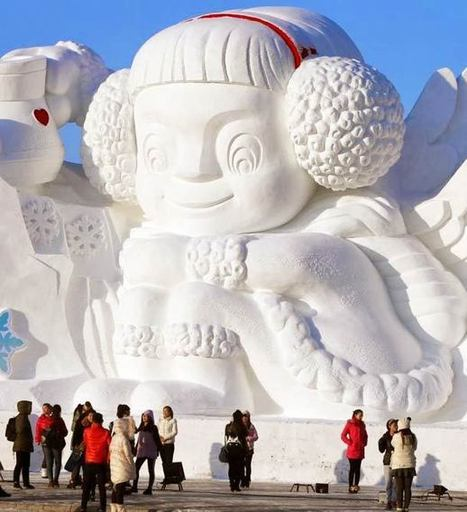 21 pictures of the giant and amazing ice sculptures of the Harbin Ice and Snow Festival 2014! | arte y artistas | Scoop.it