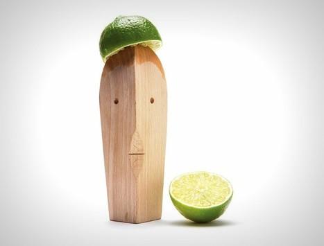 Bruce est un presse-agrumes en bois massif dessiné par le Studio Yaakov Kaufman | inoow design lab | Scoop.it