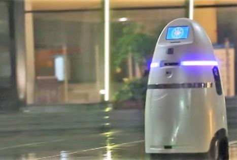 AnBot, un robot chinois gardien de la paix | Science-fiction & innovation | Scoop.it