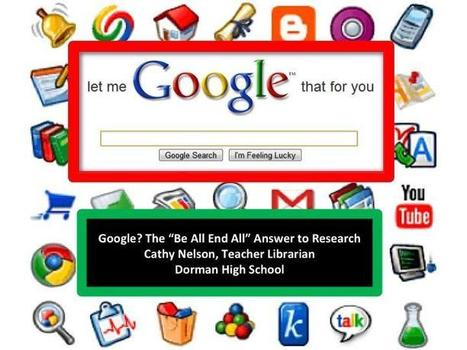 Google Session TI District 6/SCEdtech2013 | Librarian Toolbox | Scoop.it