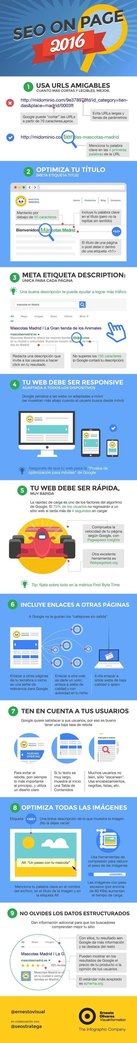 Qué es el SEO On Page #infografia #infographic #seo   Redes sociales y Social Media   Scoop.it