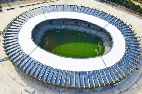 Brazil's Mineirão is the First World Cup Stadium Completely Powered by the Sun | Digital Sustainability | Scoop.it