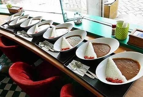Du curry japonais sculpté comme un barrage, entre art et cuisine - madmoiZelle.com | Cuisine japonaise | Scoop.it