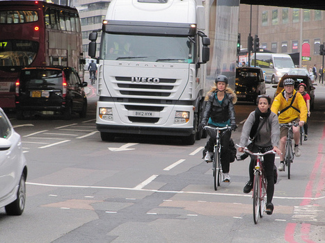 i b i k e l o n d o n: Cycling safely in central London; the tips we all should know | Bicycle advocacy | Scoop.it