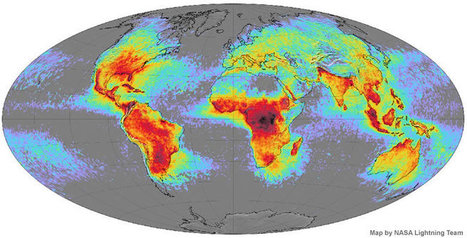 Lightning is not evenly distributed around the world | Amazing Science | Scoop.it