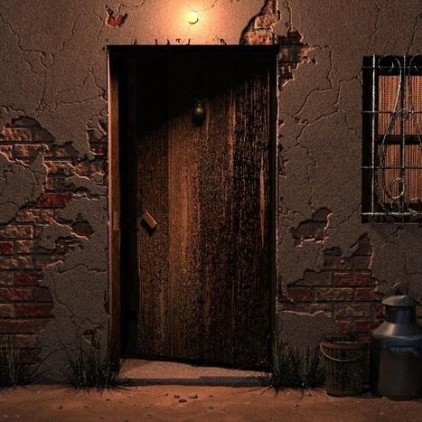 """Junto a la puerta"", Guadalupe Grande | Lectura Bibliotecas LIJ | Scoop.it"