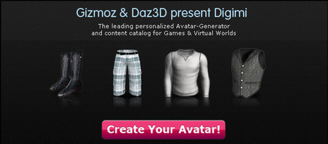 #gizmoz create your own super cool animated avatar #edtech20 | free top avatar creation | Scoop.it