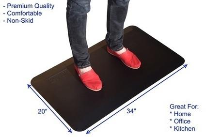 Antifatigue Mat   Adjustable Ergonomic Stand Up Desk   Scoop.it