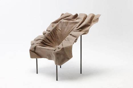 Des chaises poétiques réalisées en plastique biodégradable et textiles naturels | CD-rooms | architecture intérieure & décoration | Scoop.it