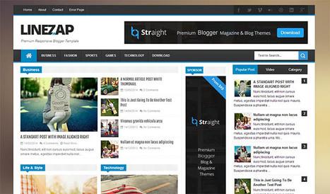 Linezap Responsive Blogger Template | Blogger Templates | Scoop.it