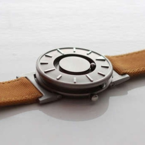Innovative Tactile Watch Helps You 'Feel What Time it Is' [VIDEO] | Bring back UK Design & Technology | Scoop.it