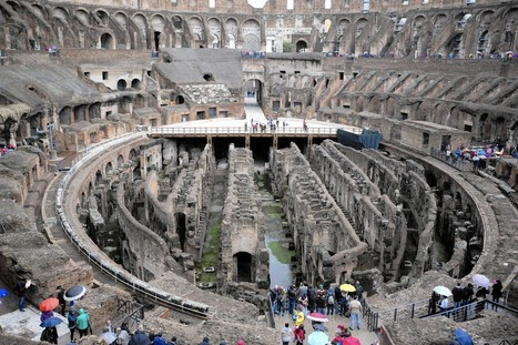 Rome officials consider reinstalling floor of Colosseum | Development of Europe | Scoop.it