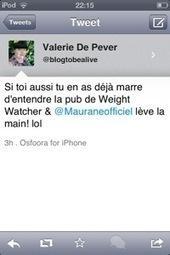 Le jour où l'égérie Weight Watchers, Maurane, m'a insultée | #ForestTimeline | Scoop.it
