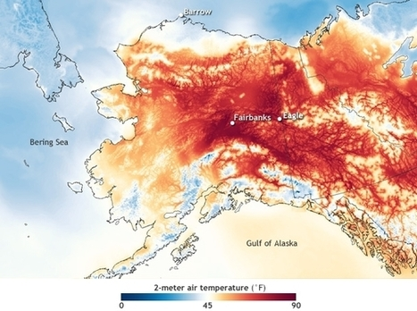 #Alaska sets new record for earliest day with temperatures in the 90s #NOAA #Climate | Messenger for mother Earth | Scoop.it