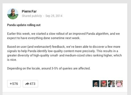 Panda 4.1: What Content Marketers Need to Know | Content Marketing & Content Strategy | Scoop.it