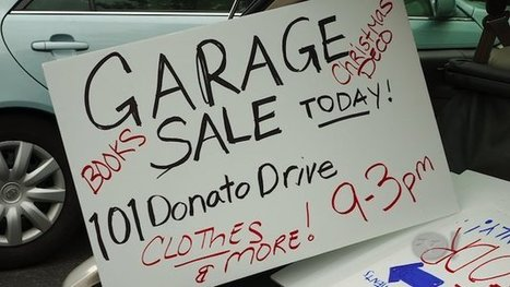 Secrets to the Perfect Garage Sale | It's Show Prep for Radio | Scoop.it