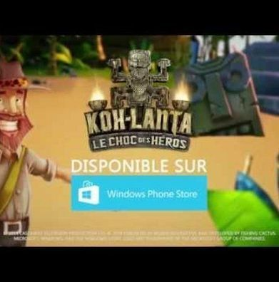 Jeux video: L'aventure recommence pour Koh Lanta sur Windows Phone ! - Cotentin webradio actu buzz jeux video musique electro  webradio en live ! | cotentin-webradio jeux video (XBOX360,PS3,WII U,PSP,PC) | Scoop.it
