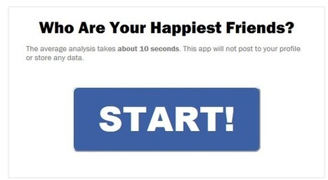 Qui sont vos amis les plus heureux sur Facebook ? | Butinage | Scoop.it