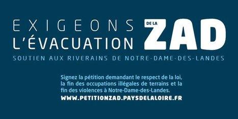 Ouest France: les syndicats contre une campagne de pub pro-Notre-Dame-des-Landes | DocPresseESJ | Scoop.it