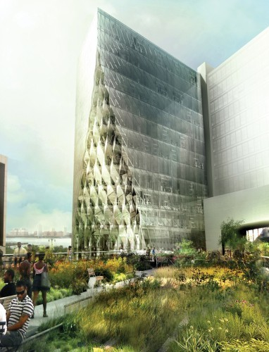 Solar Carve Tower at the High Line | Studio Gang Architects | sustainable architecture | Scoop.it