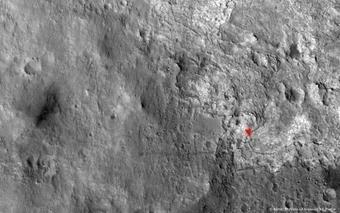 Curiosity a tracé une route dans le désert martien | Ciel et Espace | About Curiosity... | Scoop.it