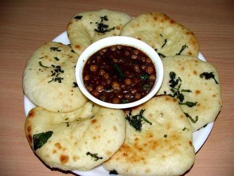 Recette de Kulcha, pain indien comme un naan (Inde)   Petits déjeuners et pains de la rue, dans le monde   Scoop.it