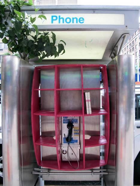 Une ville française relooke ses vieilles cabines téléphoniques en bibliothèques | bibliothécaires et bibiothèques | Scoop.it