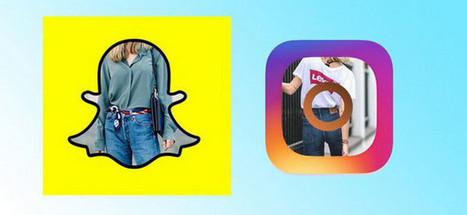 Et les plus grands fans de Snapchat et d'Instagram sont les... marques   OhMyBook !   Scoop.it