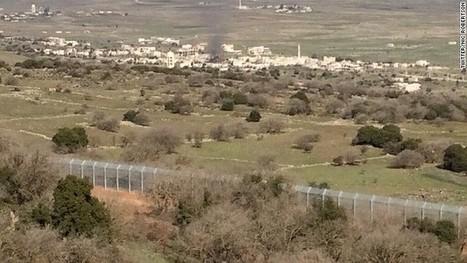 Heavy shelling rocks Golan Heights area between Syria, Israel | syria-freedom | Scoop.it