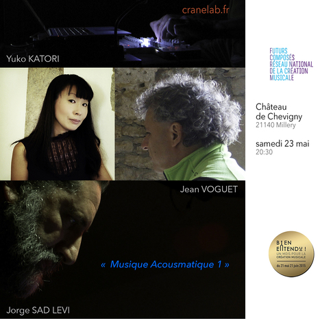 « Musique Acousmatique 1 » @ CRANE lab | Jean VOGUET compositeur | Scoop.it