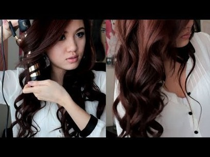 Soft Romantic Curls Spring Hair Tutorial   What is it Like to Be An E.T?   Scoop.it