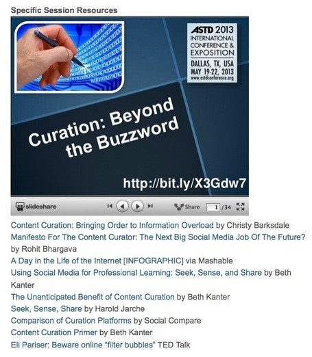 A Great Selection of Resources on Curation and Learning by David Kelly | E-Learning and Online Teaching | Scoop.it