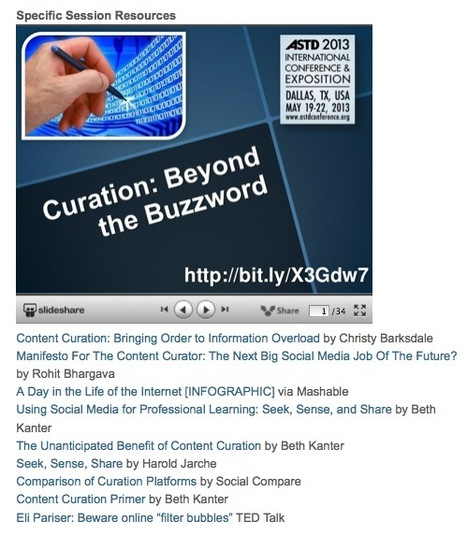 A Great Selection of Resources on Curation and Learning by David Kelly | Content Curation World | Scoop.it