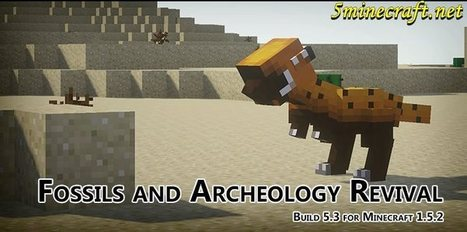 Fossils and Archeology Revival Mod 1.6.4 | jkghn | Scoop.it