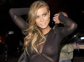People: Carmen Electra sexy dans un haut transparent ! (photo) | cotentin webradio Buzz,peoples,news ! | Scoop.it