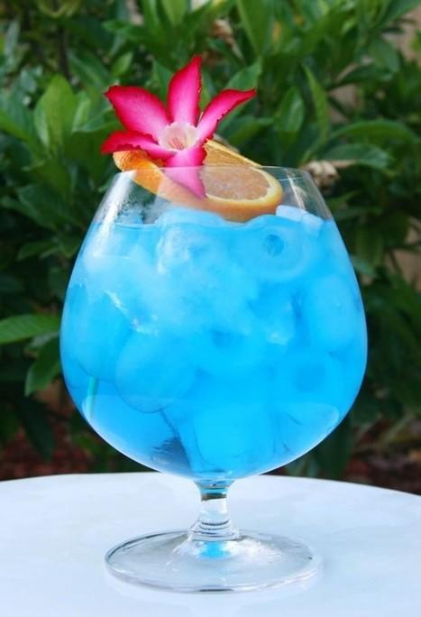 Blue Ocean – Curacao Blue, drinki | Kulinaria | Scoop.it