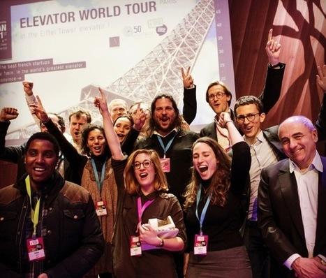 #Concours : Retour sur l'elevator Pitch, le concours le plus spectaculaire de l'année | UnionWeb | Scoop.it