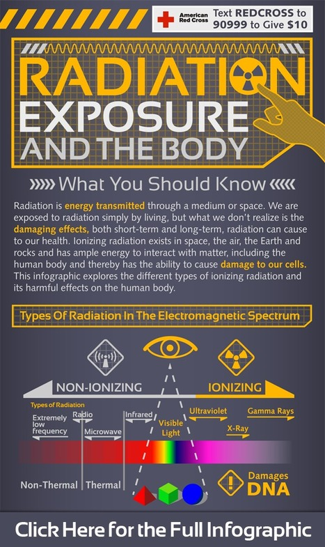 What You Should Know About Radiation Exposure | Infographics | Scoop.it