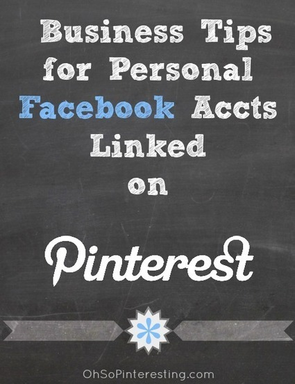 Pinterest Tip: Linking Facebook to Pinterest for Businesses | Oh So Pinteresting | Pinterest | Scoop.it