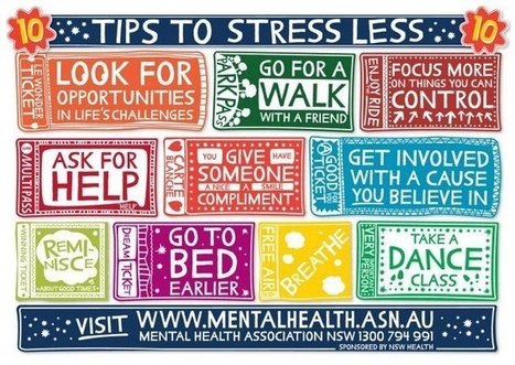Mental Health Tips for Wellness and Stress Management | Living with ABUNDANCE! | Scoop.it