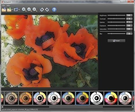 XnSketch, convierte tus fotos en cartoons con este software gratuito | Recull diari | Scoop.it
