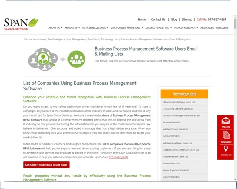 Buy Business Process Management Software using Companies from Span Global Services | Span Global Services | Scoop.it