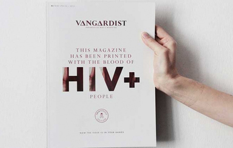 Austrian Magazine 'Vangardist' Prints Issue in HIV-Positive Blood-Infused Ink   Gay News   Scoop.it