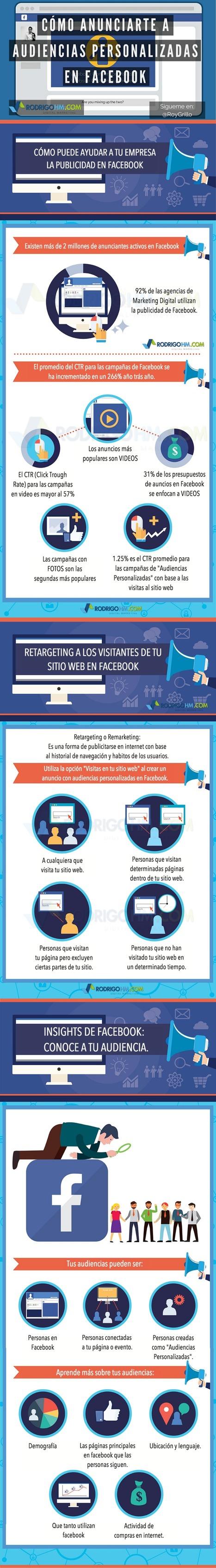 Anuncios para audiencias personalizadas en Facebook #infografia #marketing #socialmedia   Redes sociales y Social Media   Scoop.it