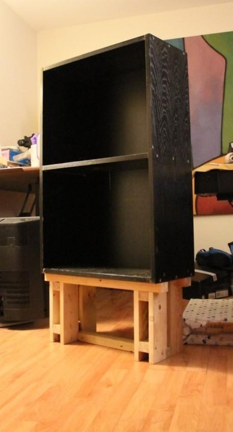Reclaimed wood Billy - IKEA Hackers | Reclaimed Wood Furniture | Scoop.it